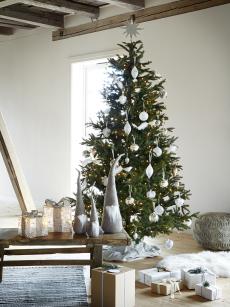 Juletre m/LED lys 185 cm