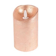 Flame LED kubbelys kobber 12 cm