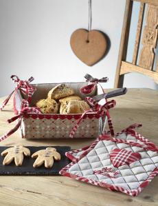 Merry Christmas leipäkori