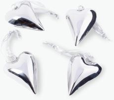 Metallhjärta 4 st