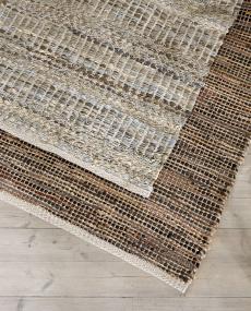 Nature matta brun stor 75x180 cm