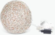 Stella dekorkula med LED ljus