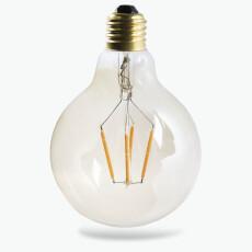Edison LED glødepære rund