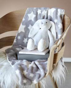 Baby presentset kanin och pläd
