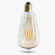 Edison LED glødepære pæreformet