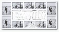 Family ramme for 10 bilder