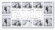 Family kehys 10 kuvalla