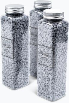 Deco dekorstein grå 3 pk