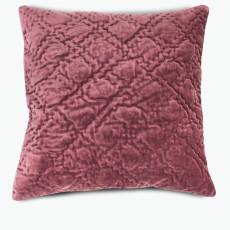 Velvet burgunder m/dunpute 45x45 cm
