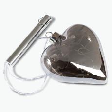 Misty sydän LED-valolla
