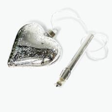 Lucia sydän LED-valolla