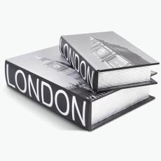 Book LONDON säilytyslaatikko, 2 kpl.
