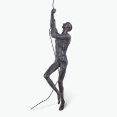 Athlete figur klättrar