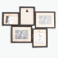 Memento ramme for 5 bilder
