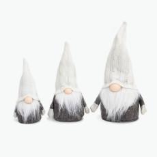 Santa hvit sett à 3