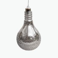 Dusk to Dawn glödlampa med batteridrivet ljus