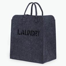 Laundry tvättkorg mörkgrå