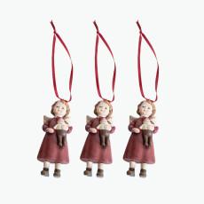 Joyful joulukuusenkoriste setti 3 kpl