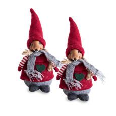 Santa mus 2 stk