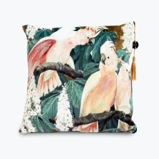 Parrot Gossip kudde 45x45 cm