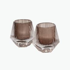 Prisma lysestake/telysholder 2 stk