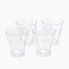 Highlands vannglass 4 stk
