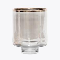 Platinum vase/lykt