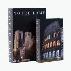 Book Notre Dame och Colosseum 2 st