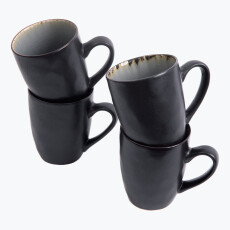 Grey Harmony mugg 4 st