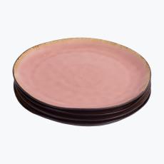 Pink Pleasure middagstallerken 4 stk