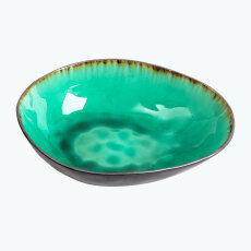 Green Jungle bolle oval stor