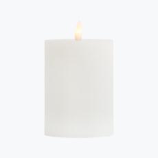 Ambience pöytäkynttilä valkoinen 10 cm