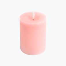 Ambience blockljus rosa 10 cm