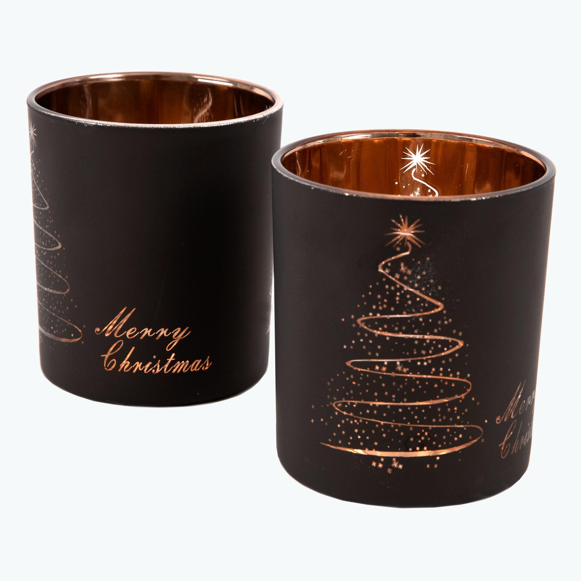Merry Christmas kynttilälyhdyt 2 kpl