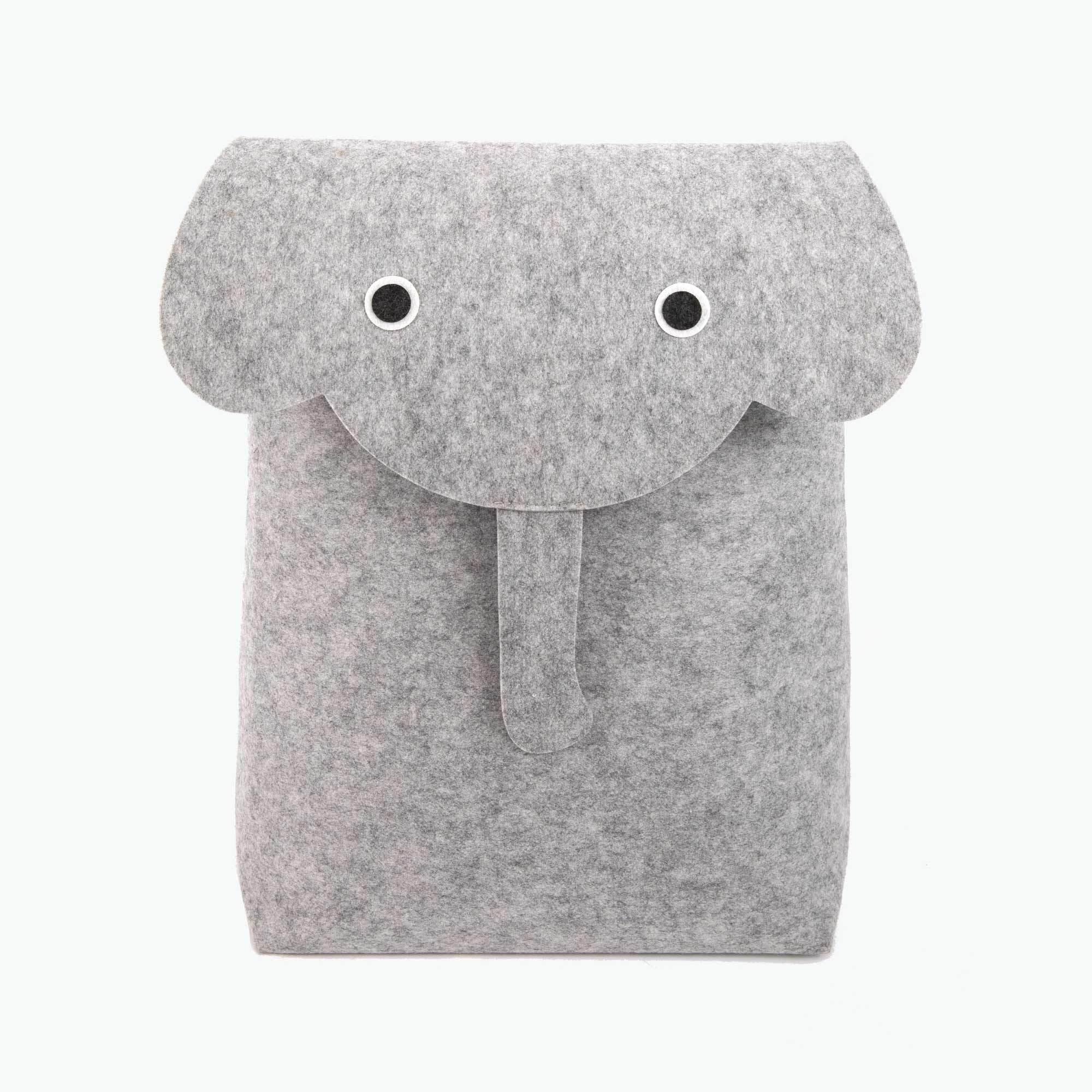 Elephant oppbevaringskurv/bag