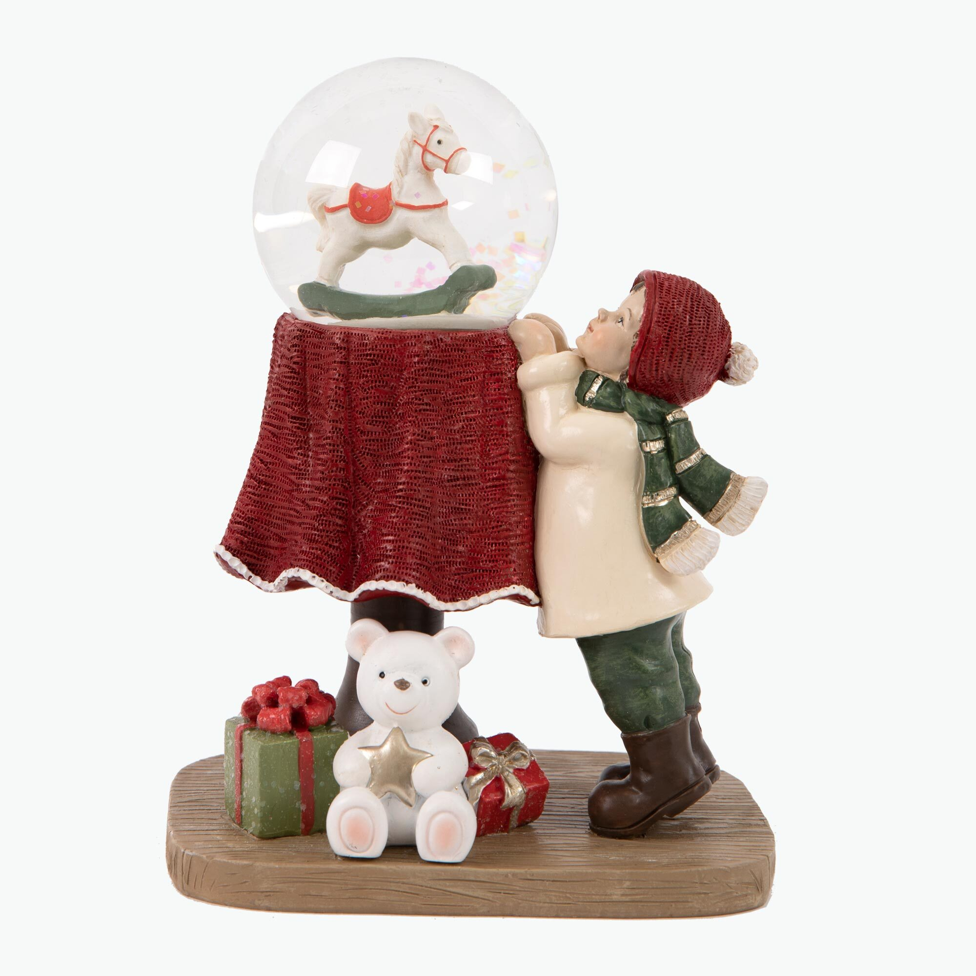 Excited about Christmas figur