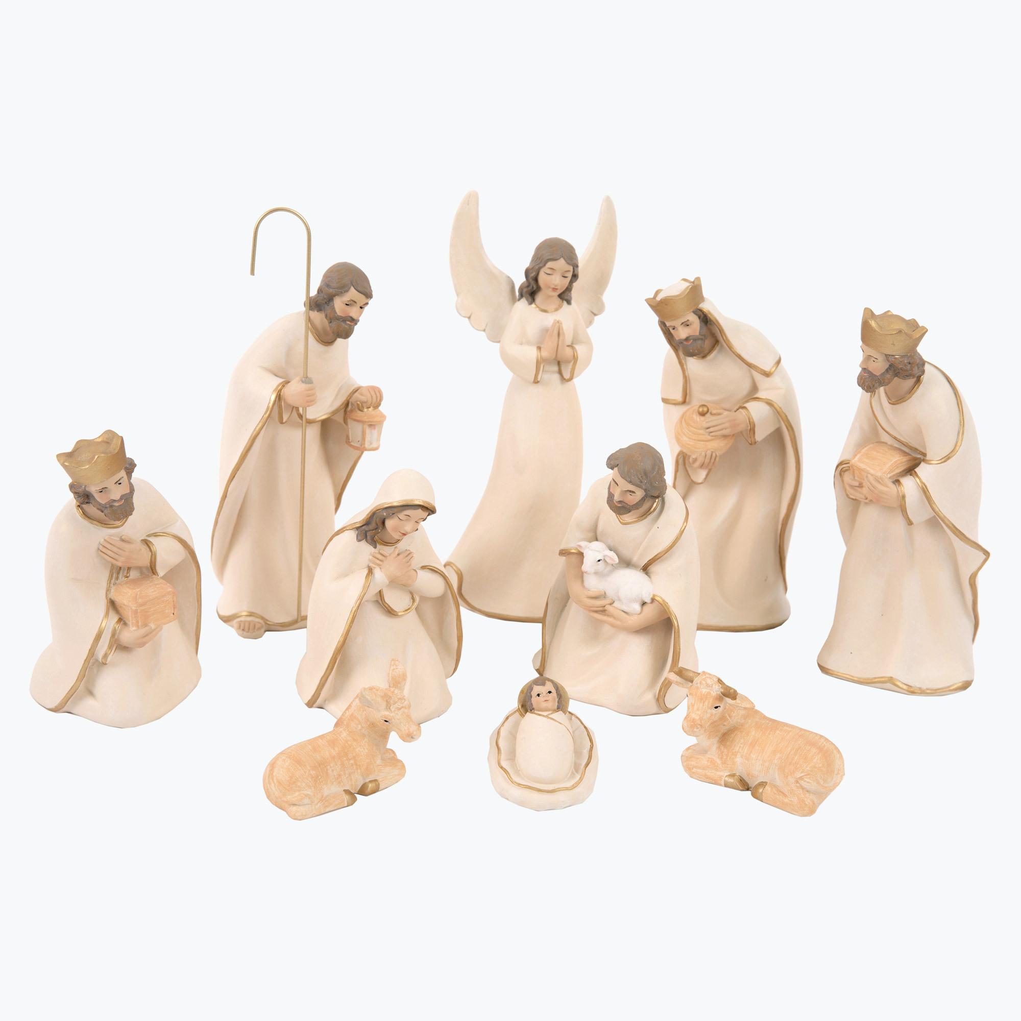 Bethlehem julkrubba beige