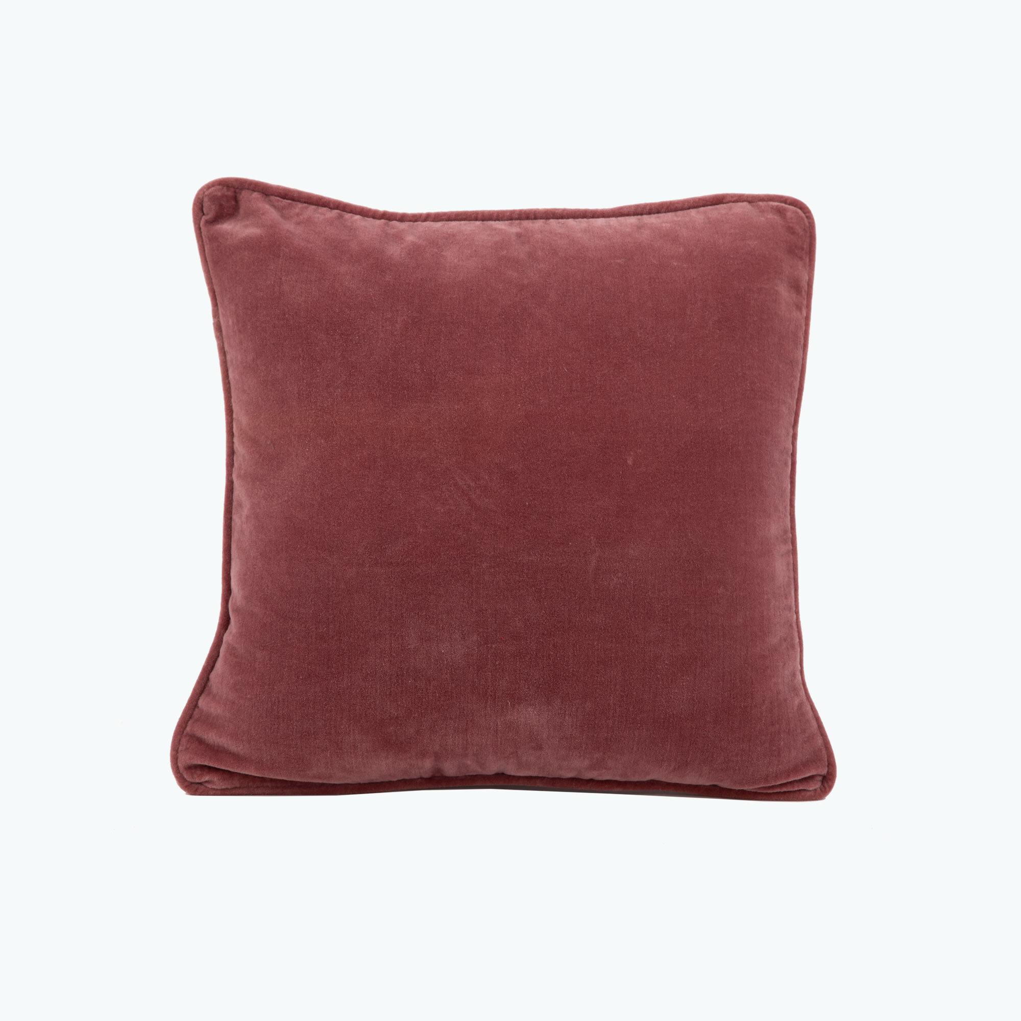 Pink Velvet kudde 45x45 cm