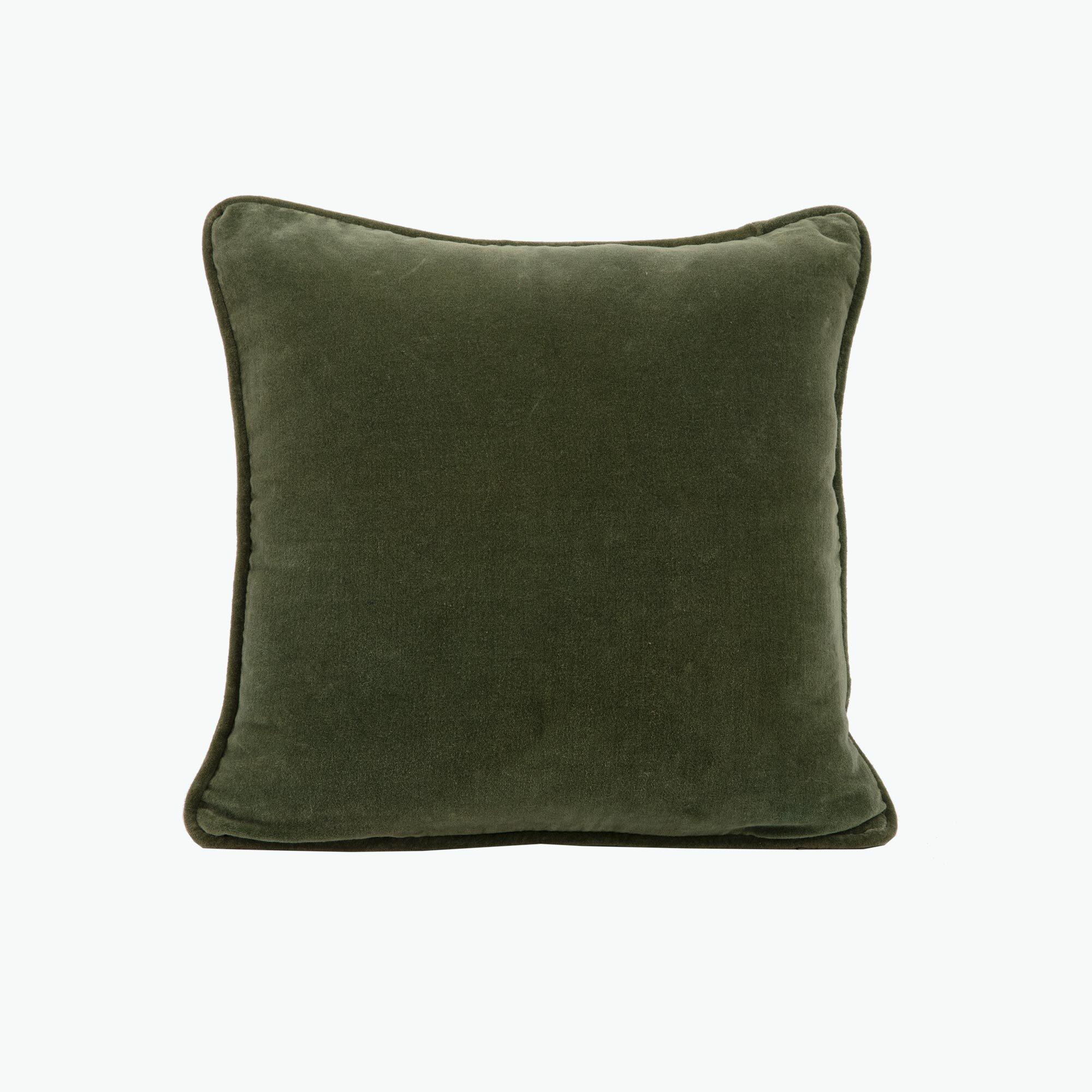 Green Velvet kudde 45x45 cm