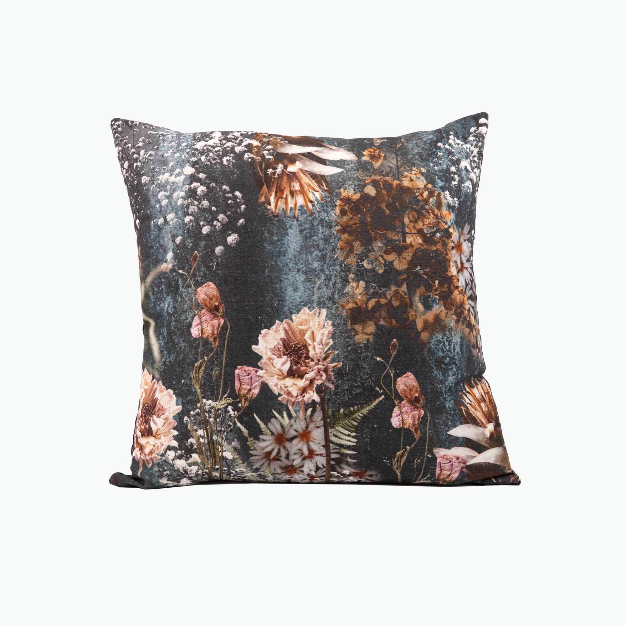 Autumn Flowers kudde 45x45 cm