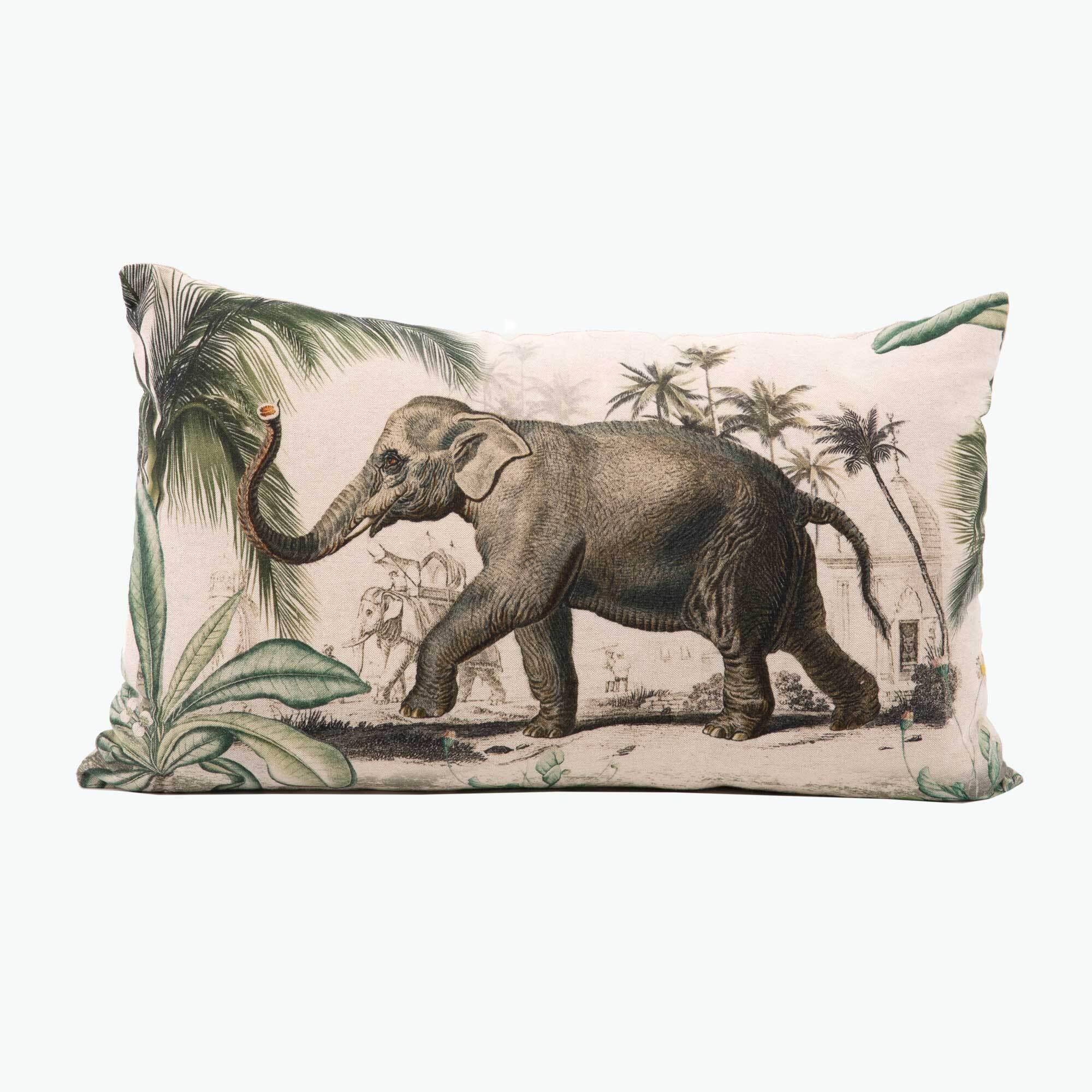 Elephant kudde 30x50 cm