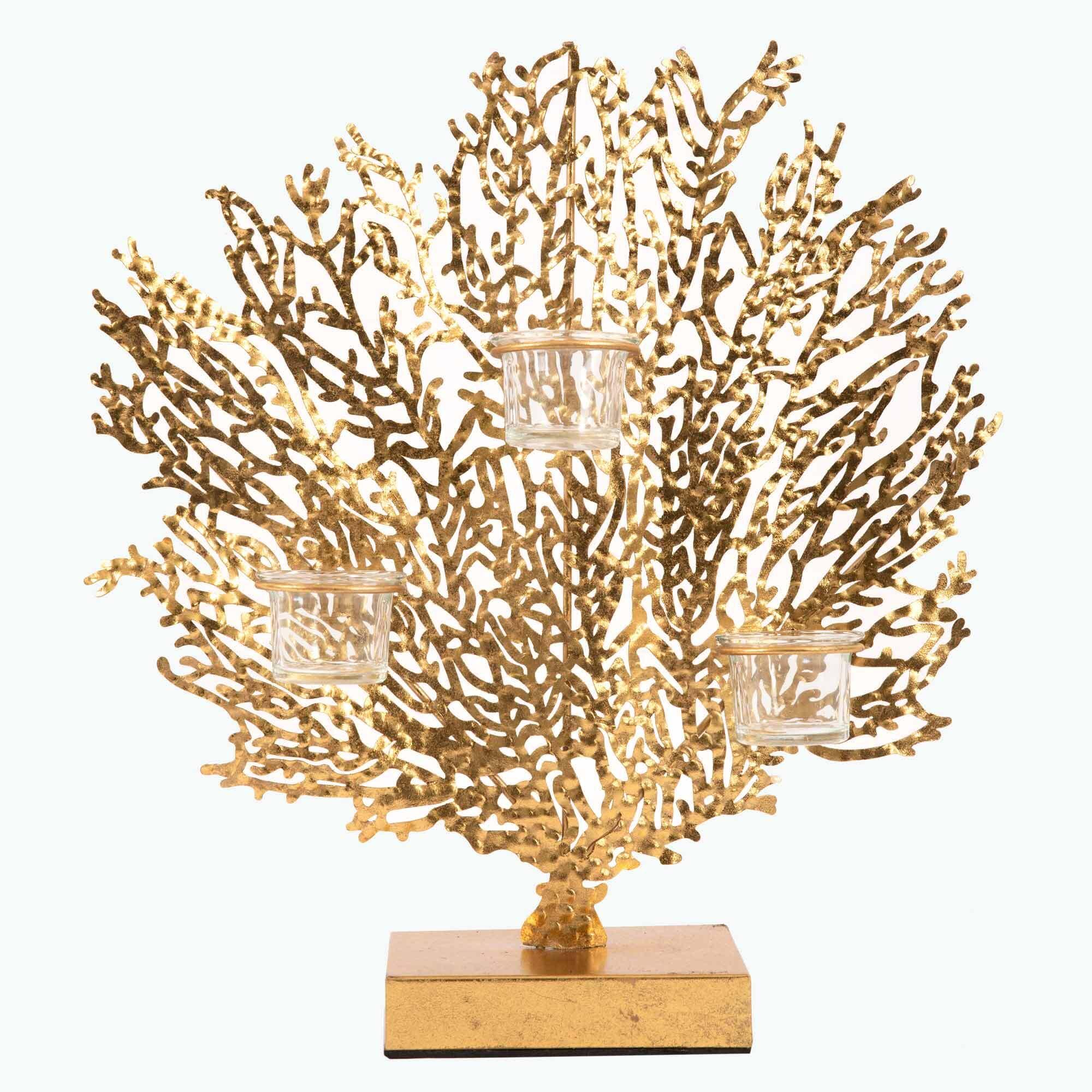 Corallo kynttilänjalka 3 kynttilälle