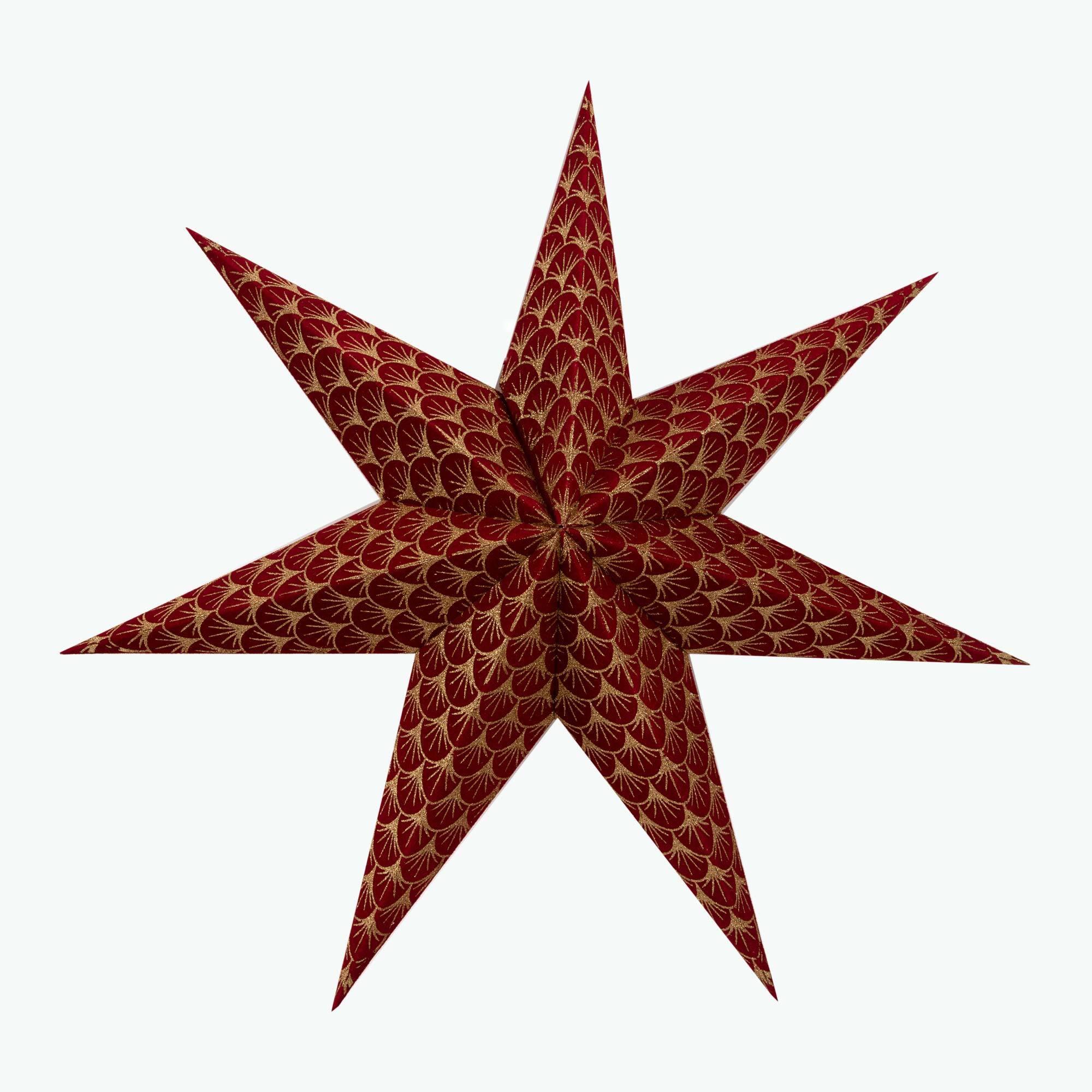 Stella Red adventsstjärna 60 cm