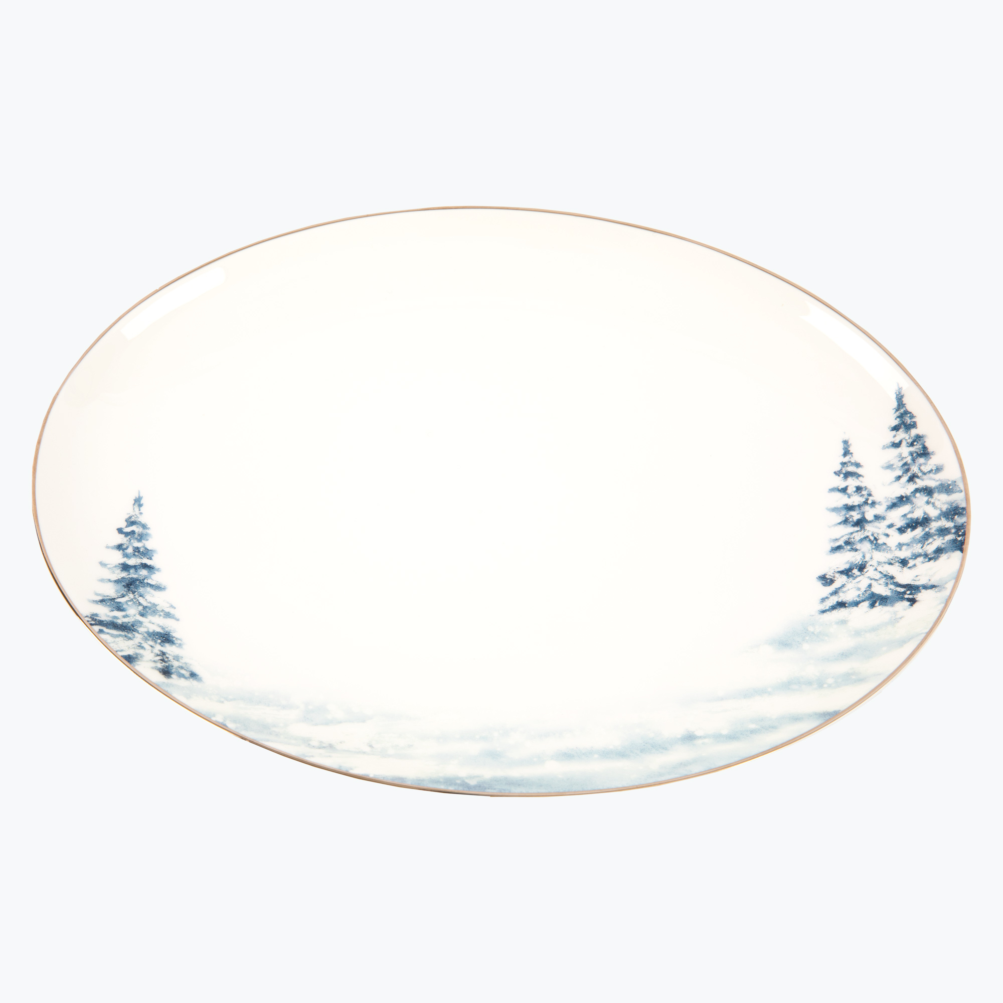 Christmas Magic serveringsfat ovalt 33x24 cm