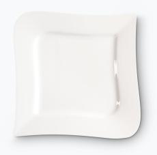 Vit Lilja lautanen 4 kpl