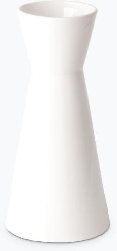 Hvit Lilje vann-/vinkaraffel