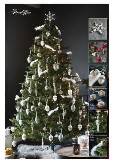 Juletre 215 med julepynt