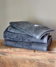 Luxury handduksset blågrå