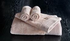 Luxury rosa handduksset