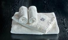 Luxury offwhite håndklesett